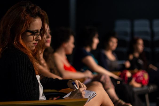 Roda de Conversa no Congresso Contemporâneo de Dança de Salão em BH. Foto Gilberto Goulart